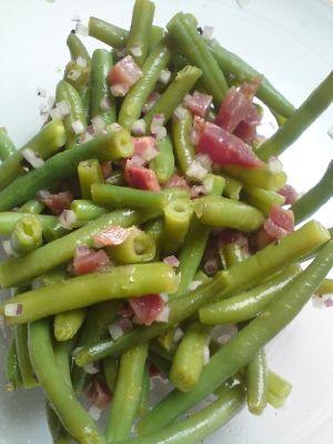 Bohnen-Salat