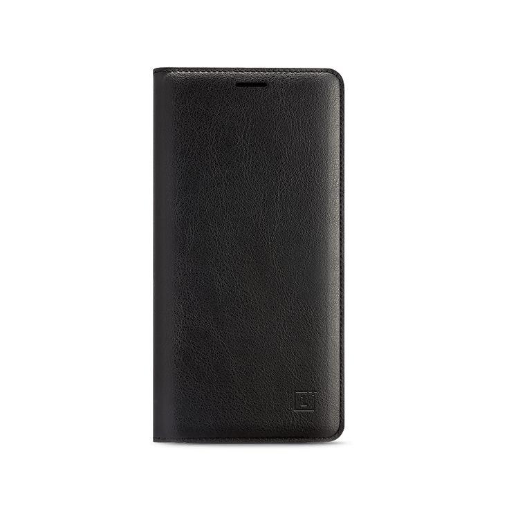 OnePlus 3 / 3T Flip Cover (fekete)
