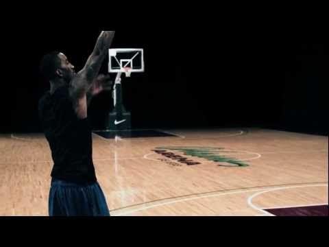 Nike Pro Training Drills, JR Smith, Shooting: Star Drill - YouTube