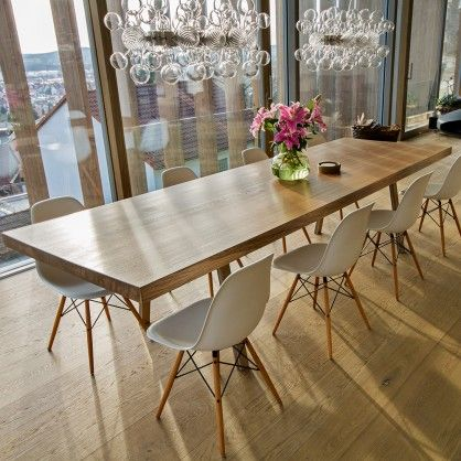 Solid Wood Table 0007 By Holz Elf Design Braun