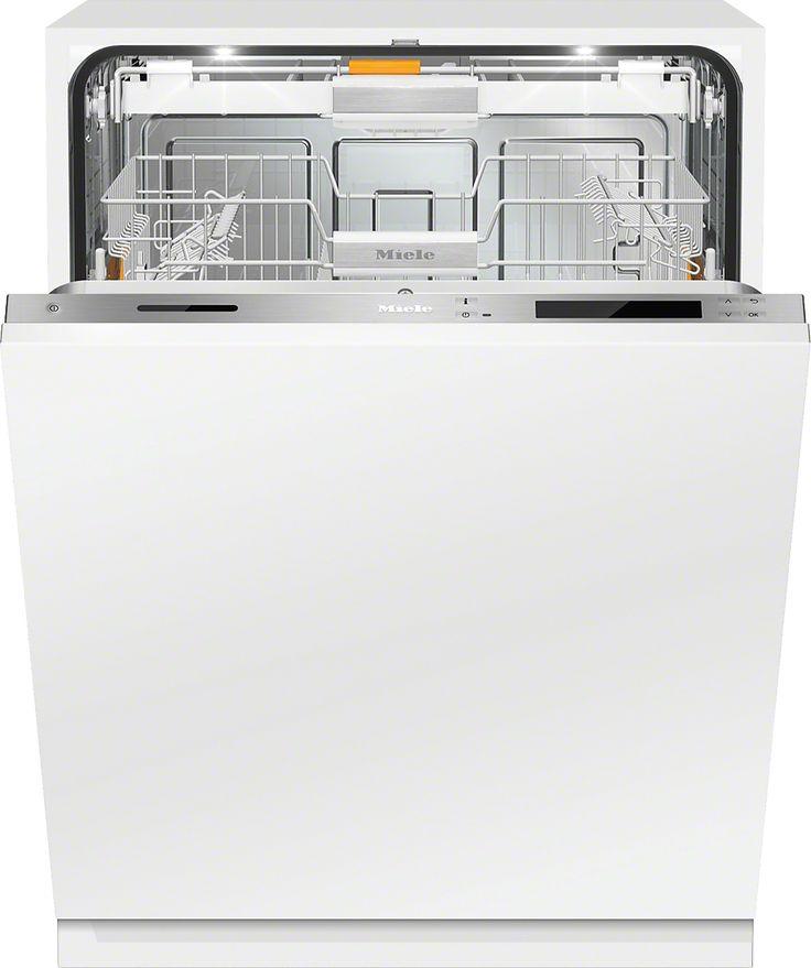 G 6995 SCVi XXL K2O Vollintegrierter Geschirrspüler XXL − der Miele Alleskönner für griffloses Küchendesign. Automatische Türöffnung bei 2maligem Klopfen − Knock2open Besonders sparsam mit Energieeffizienzklasse A+++ Beste Ergebnisse − ab 6,5 l Wasserverbrauch im Automatic Programm Perfekte Ausleuchtung für leichtes Beladen − BrilliantLight Motorische Türschließung - AutoClose Mehr Produktinformationen Farbe   Edelstahl Preis:EUR2.449,00*