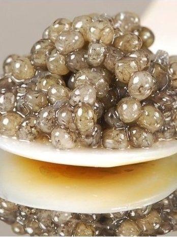Iranian Caviar - looks like platinum
