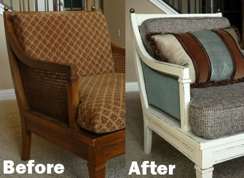 Refurbish an old chair