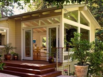Addition Sunroom Design Ideas, Pictures, Remodel, And Decor   Page 31.  Sliding French DoorsSliding ...