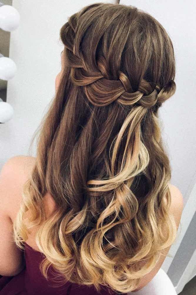 Wedding Bridesmaid Hairstyles Hochzeit Brautjungfer Frisuren