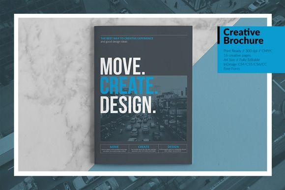 Creative Brochure Vol.7 by Kovalski on @creativemarket