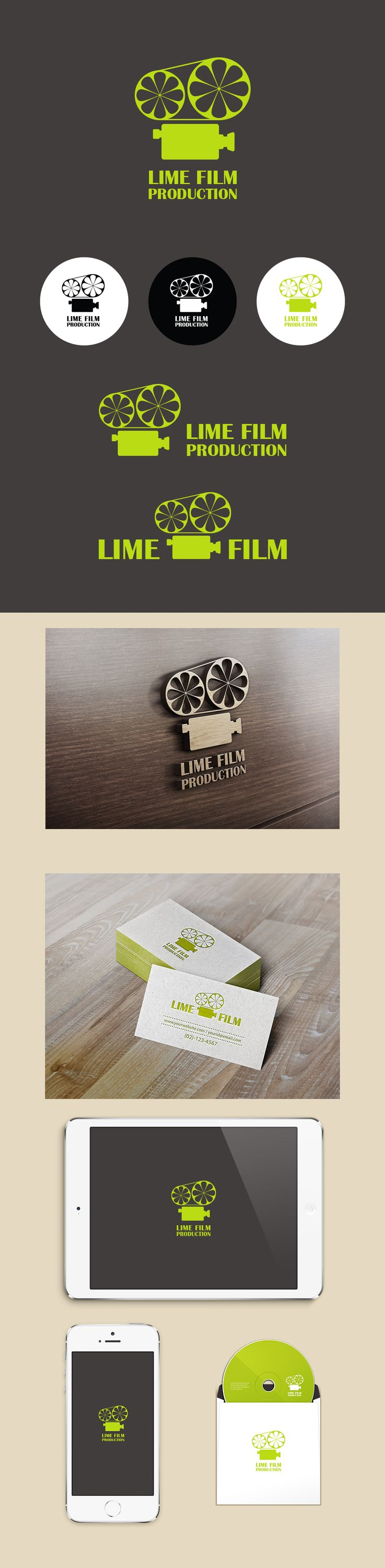 Lime Film  (Logo Design By Conoi)