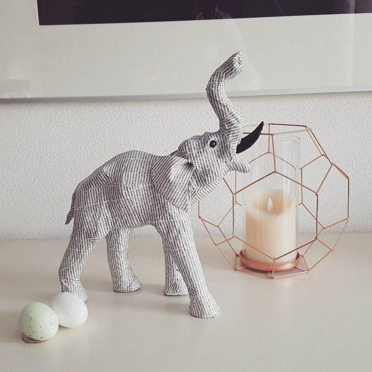 #kwantuminhuis Decoratie OLIFANT > https://www.kwantum.nl/wonen/woondecoratie @craftynaatje
