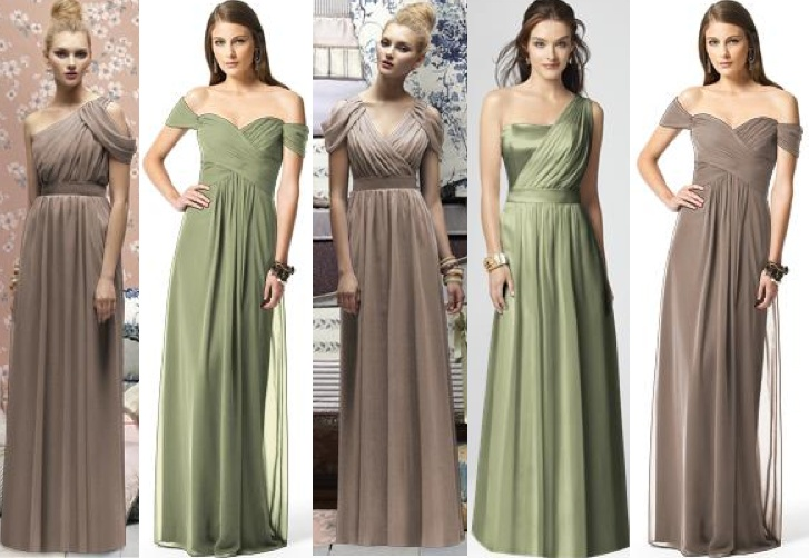 Austin Reed Wedding Dresses : Bridesmaids dresses from dessy in kiwi and topaz colors big day