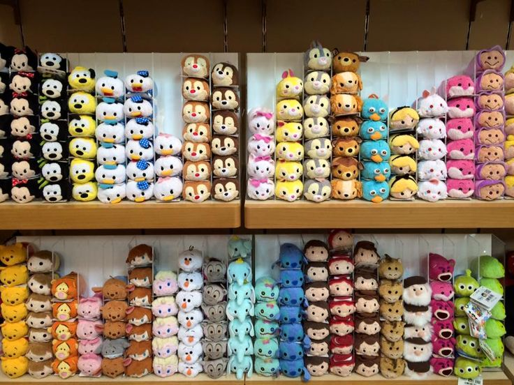 Went Cuteness Crazy Tsum Tsums In Tokyos Disney StoreAmericas