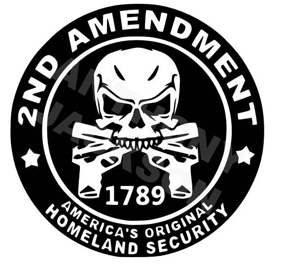 2nd amendment car decal vinyl decal oracle 651 decal