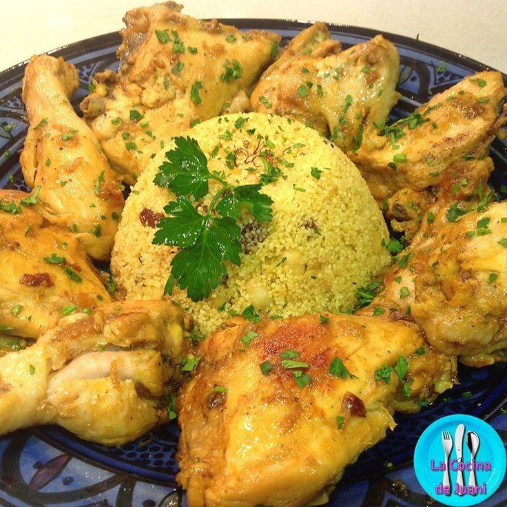 Cus-cús, receta internacional de cus-cús y pollo con la que sorprenderás a tus comensales en una cena festiva.