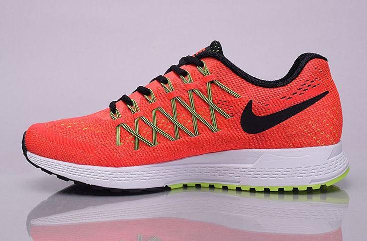 Nike Air Zoom Pegasus 32 Mens Trainers Orange/ Barely Volt / Black 749340-607