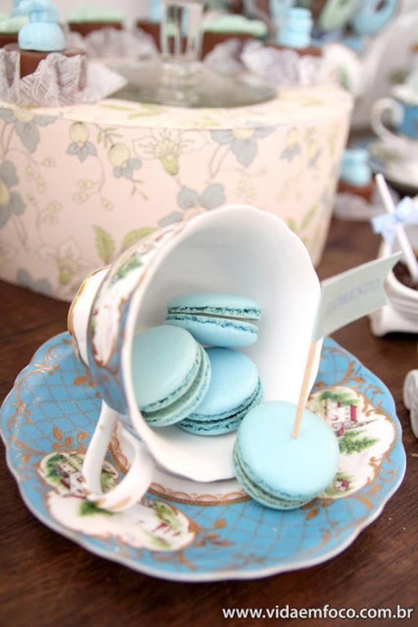 tea cup decoration ideas | Parisan Paris Cafe Boy Girl Decorations Baby Shower Planning Ideas