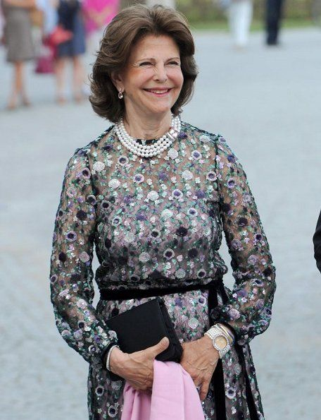 Queen Silvia attended celebration of 80th birthday of Prince Max