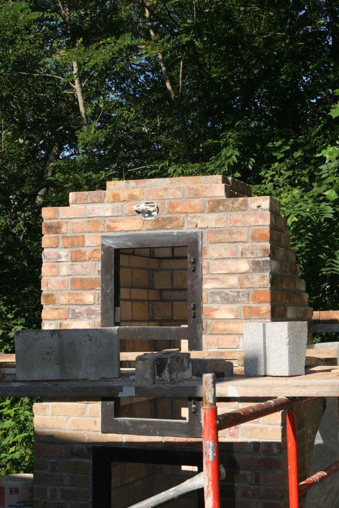 How To Build A Brick Smoker Brick Smoker Brick Bbq Brick