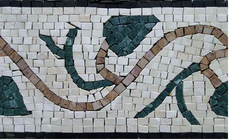 Таможня Конструировала Мраморная Мозаика Границы Плитки - Венецианская Мозаика Фабрики