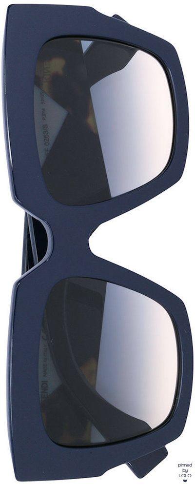 FENDI EYEWEAR Facets sunglasses
