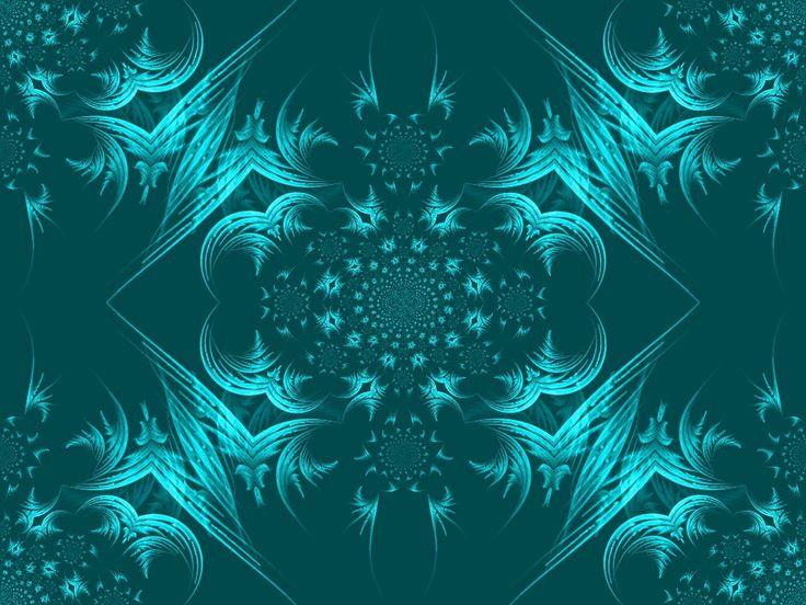 pretty_teal_design__wallpaper Design Art Pinterest