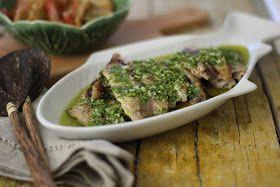 As Minhas Receitas: Filetes de Carapau com Molho Verde