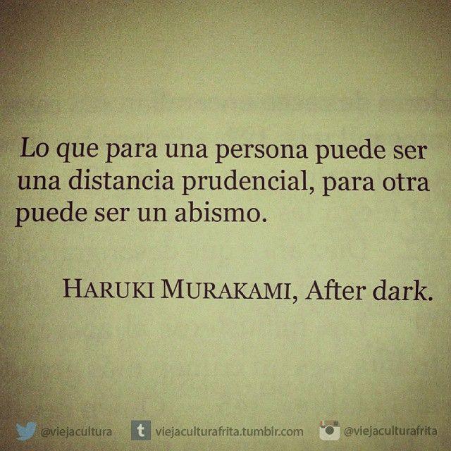 "viejaculturafrita:  ""After dark"" - Haruki Murakami."