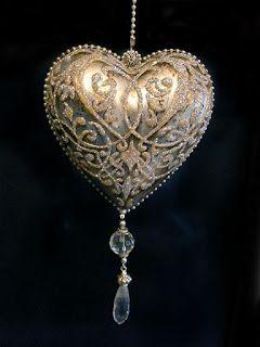 deququ декупаж: Рождественские украшения с блеском и с бриллиантами безделушка