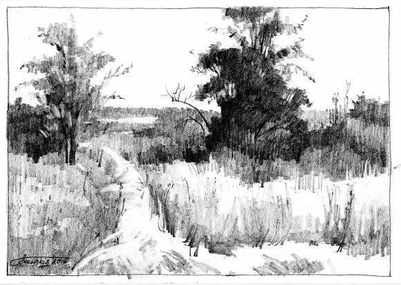 Portrait Drawing Landscape Drawings Landscape Sketch Landscape