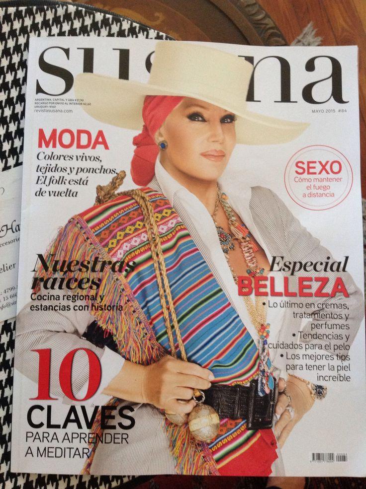 Sittic & Harb Hats Sombrero en baby alpaca. Tapa de Revista Susana.