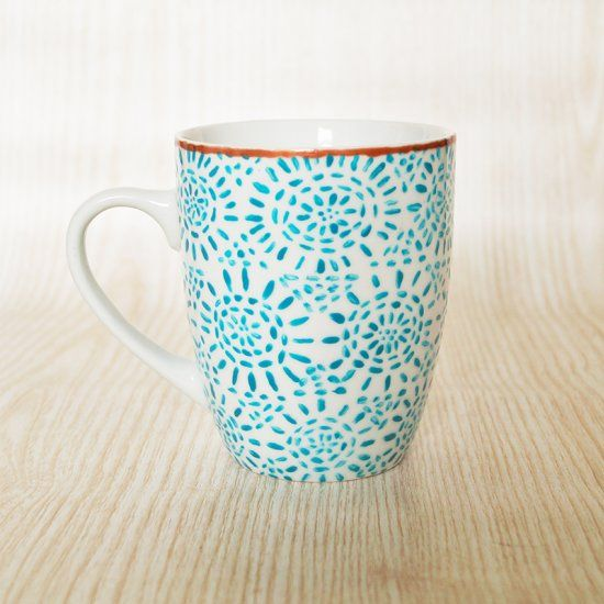 Learn how to paint this design and create your own mug (English and German)