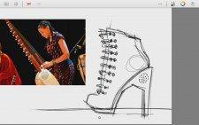 Sona Jobarteh Mamumuso (Shoes Design Version Part 01) Afrika Konseptli Ayakkabı Tasarımı