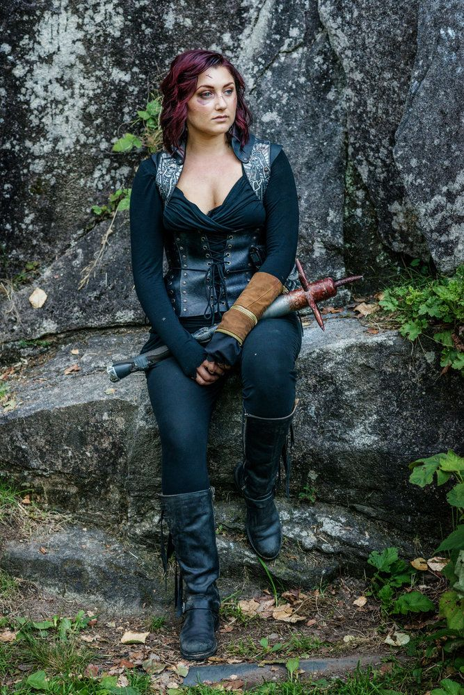 "Z NATION -- ""Everybody Dies In The End"" Episode 315 -- Pictured: Anastasia Baranova as Addy -- (Photo by: Frank Schaefer/Go2 Z/Syfy) @AnnyAwesome"
