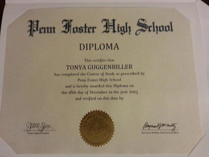 best high school diploma ideas high school  she graduated from penn foster s accredited online high school diploma