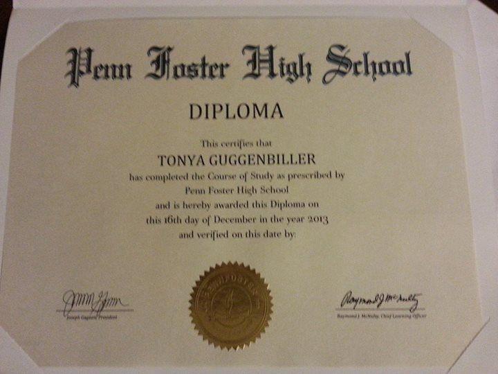 Online Diploma Penn Foster Online Diploma