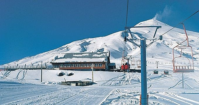 Centro de Esqui Pucón, Chile