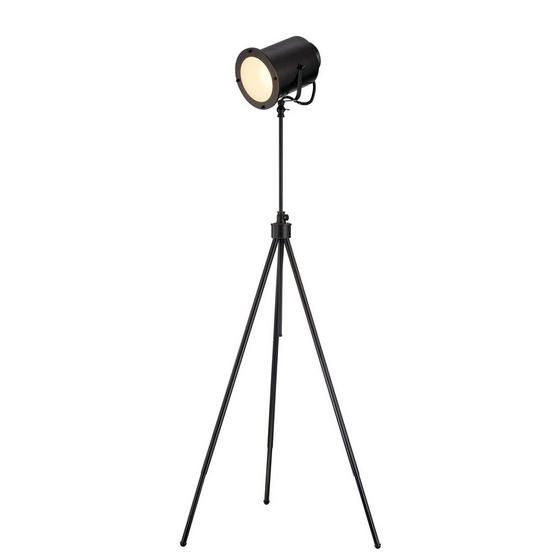 Directeur Floor Lamp Funky industrial light for behind accent chair in living room