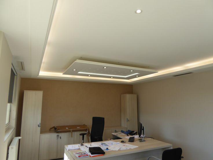 Osez clairer vos espaces avec le plafonnier staff d cor for Idee faux plafond