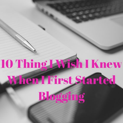 I've been blogging for about four years now and it never fails to amaze me how many things I don't know. Despite this it also never fails to amaze me how much I have learnt so far. Here are 10 lessons I wish I knew when I first started blogging:  The importance of social …