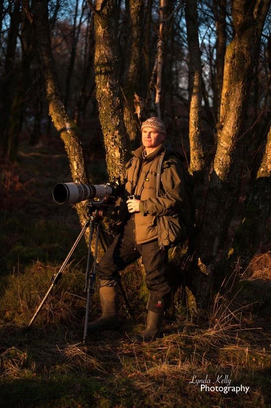 Client Caravan Club with Simon King TV wildlife presenter and Caravan Club Member. Photography by Lynda Kelly