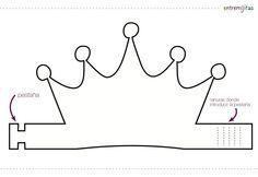 Ideas con goma eva para cumpleaños: coronas