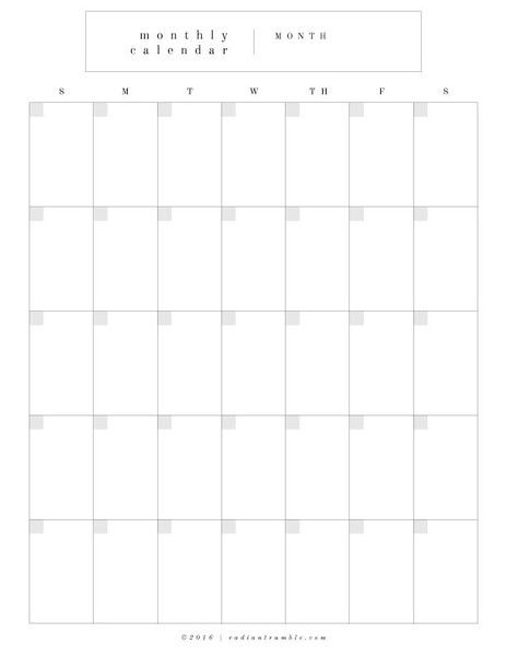The 25+ best Blank calendar pages ideas on Pinterest Printable - blank calendar template
