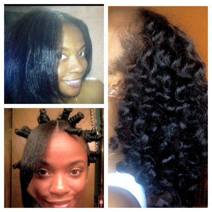 Bantu knot out- love the curl pattern that is created. Going to have to try this.