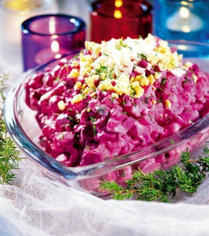 Sejam Bem-Vindos ao: Receita de Rosolje - Salada de Beterraba com Arenque