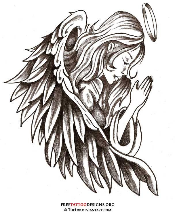 Love this >> angel tattoo | ... angel tattoo is like having your guardian angel with you all ...