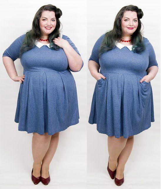 Nothing But Blue Skies - Clara Polka Dot Collar Dress from Joanie Clothing | diana@fashionlovesphotos.com
