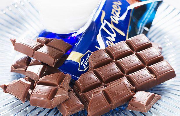 Fazerin Sininen - Finnish milk chocolate