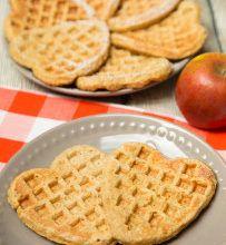 Jablkovo – ovsené wafle
