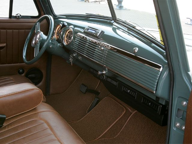 1951 chevy truck interior | 1951 Chevrolet Pickup Interior Dashboard
