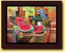 Resultado de imagen para cuadros modernos para living comedor