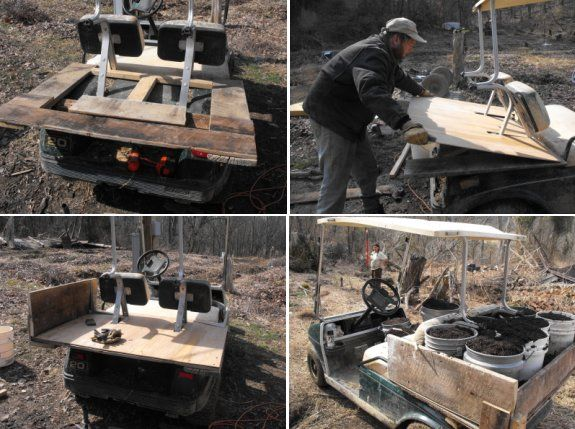 Home Made Diy Golf Cart Dump Box Plans Products For The