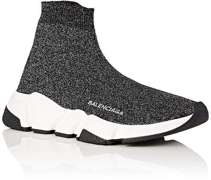 Balenciaga Womens Speed Knit Sneakers